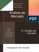 Análisis de Mercado. Cultura Empresarial