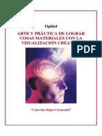 Arte Y Practica De La Visualizacion Creativa - Ophiel.pdf