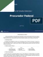 FASE 3 Extensivo Completo Procurador Federal