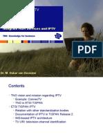 2008 SIPSIG Standards OskarVanDeventer IMS BasedIPTV (1)