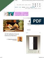 Os 50 Melhores Livros Da História Da Literatura _ Revista Bula