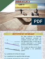 Maxima Eficiencia Hidraulica y Minima Infiltracion en Canales