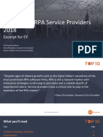Hfs Ranked Ey as 1 in Hfs Top 10 Rpa Service Providers 2018