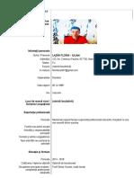 MODEL de CV