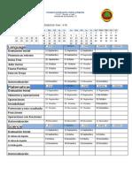Planificacion Trimestral 1 Rd 6th..