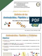 Transparencia Aminocidos Pptidos y Protenas Qumica 2011.ppt