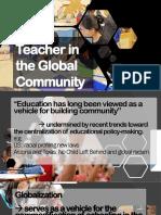 Teacher in the Global Community