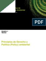 Principios de Derecho y Politica Ambiental y Manejo de Agua v1.1