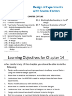 14- Design of Experiments With Several Factors