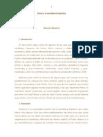 Peirce y La Escolástica Hispánica