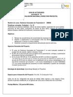 SISTEMAS AVANZADOS DE TRANSMISION II TRABAJO FINAL