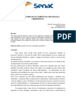 GESTÃO DE RISCOS NO ÂMBITO DA SEGURANÇA CIBERNÉTICA