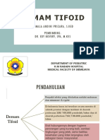 Ppt Case Demam Typhoid Andin
