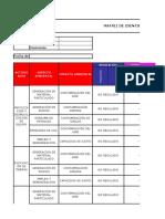 Matriz Aspecto y Impactos Exp. Canal Reservorio
