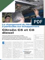 Filtre Particule Citroen 01