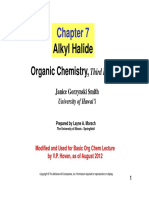 Alkyl Halide 2012