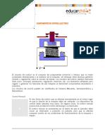 COMPONENTES DE CONTROL ELÉCTRICO