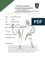 Prposal Karate