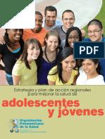 ESTRATEGIA REGIONAL PARA MEJORAR LA SALUD DE ADOLESCENTES Y JÓVENES