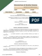 Reglamento Comisión Interamericana de Derechos Humanos