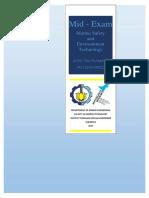 MarineSafetyandEnvironmentalTechnology MidExam