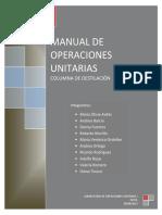 Manual de Operaciones Columna
