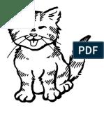 Colorear Gato