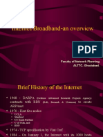 Broadband Servies and Access Technologies- An Overview