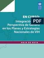 Integración de La Perspectiva de Género en Los Planes y Estrategias Nacionales de VIH- PNUD
