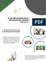 El Factor Humano en La Aplicación Del Estudio