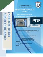 Procesos Constructivos en Edificaciones de Salud