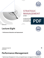 Strategic Management - Lec 8