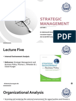 Strategic Management - Lec 5