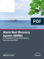 Waste Heat Recovery System (Whrs)