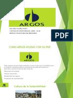 ARGOS Y SU DESARROLLO SOSTENIBLE