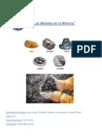 Los Metales en La Minería (Autoguardado)