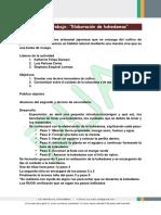 Actividades Formato Plan de Trabajo