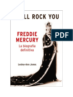 Lesley-Ann Jones - I Will Rock You. Freddy Mercury. La Biografia Definitiva