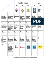 Calendar December 2018 PDF