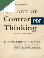 NEILLH B -The Art of Contrary Thinking 1985