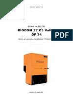 Biodom 27--Upute Za Instaliranje, Korištenje i Održavanje-najnovije--20.11.2017.