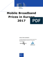 Mobile Broadband Prices 2017 Executive Summary PDF
