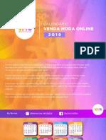 Calendário Venda Moda Online