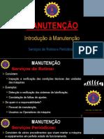 #2 MANUTENÇÃO - Serviços de Rotina e Serviços Periódicos