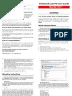Enhanced Audi VW User Guide