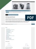 Design Support Joining Aluminium