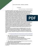 2013 – INCP- Pref. Casimiro de Abreu