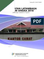 Kecamatan Latambaga Dalam Angka 2018