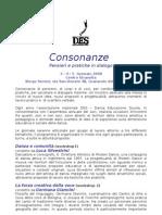 Convegno DES 2008  Consonanze. Pensieri e pratiche in dialogo