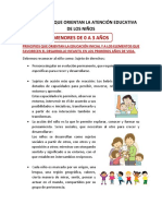 Ideas Claves Que Orientan La Atención Educativa
